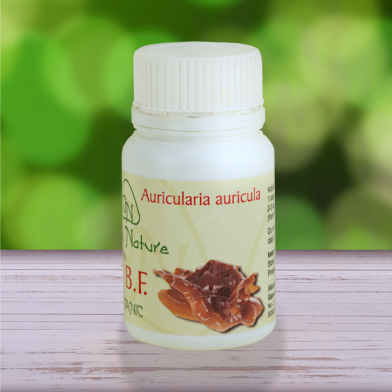 Wood Ear Auricularia auricula Mushroom capsules from Gano Nature